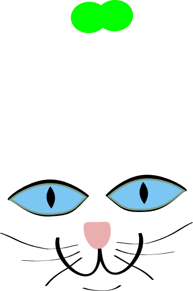 396x597 Cat Features Blue Eyes Clip Art
