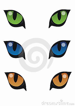 317x450 Cat Eyes Clipart