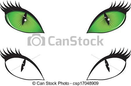 450x295 Green Eyes Clipart Cat Eye