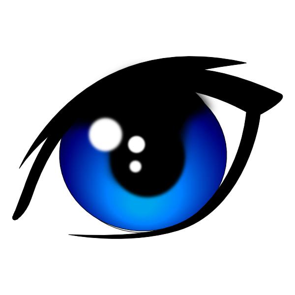 600x600 Blue Clipart Cat Eye