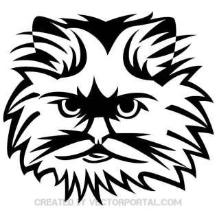Cat Face Clipart