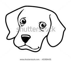 242x208 Black Cat Clipart Dog Face