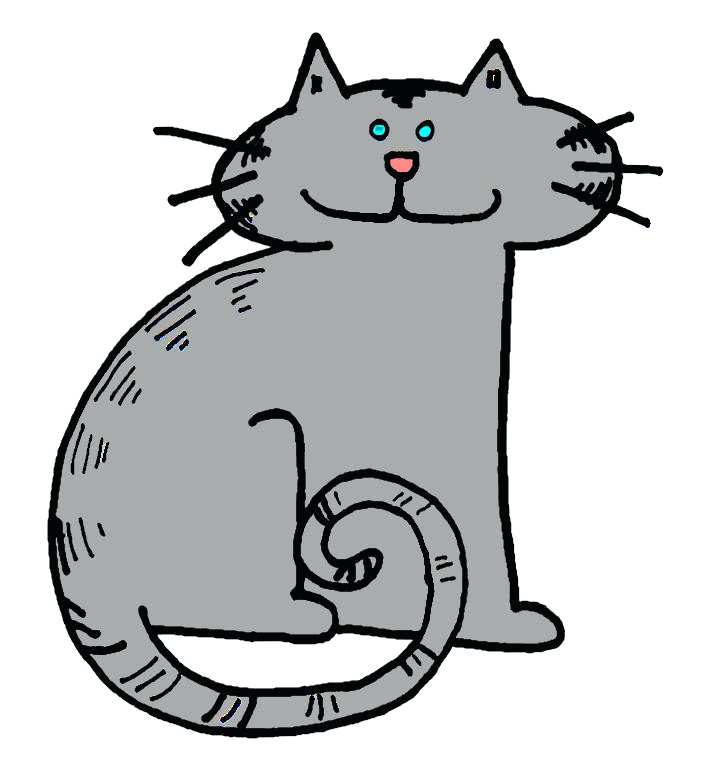 702x780 Cat Clipart Cat Coloring Pages Here Is A Small Collection Of Cute