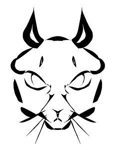 231x300 Cat Face Drawings