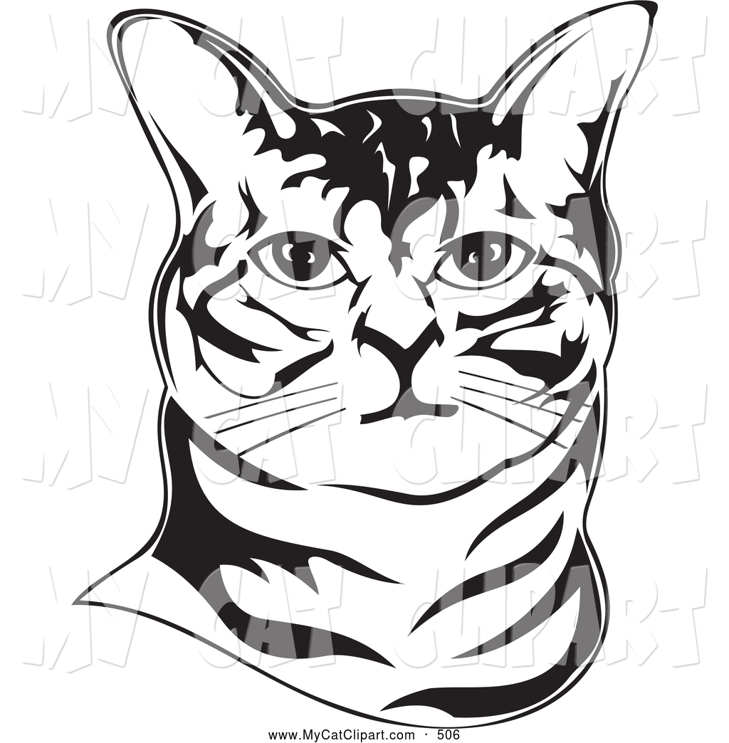 1024x1044 Royalty Free Black And White Stock Cat Designs