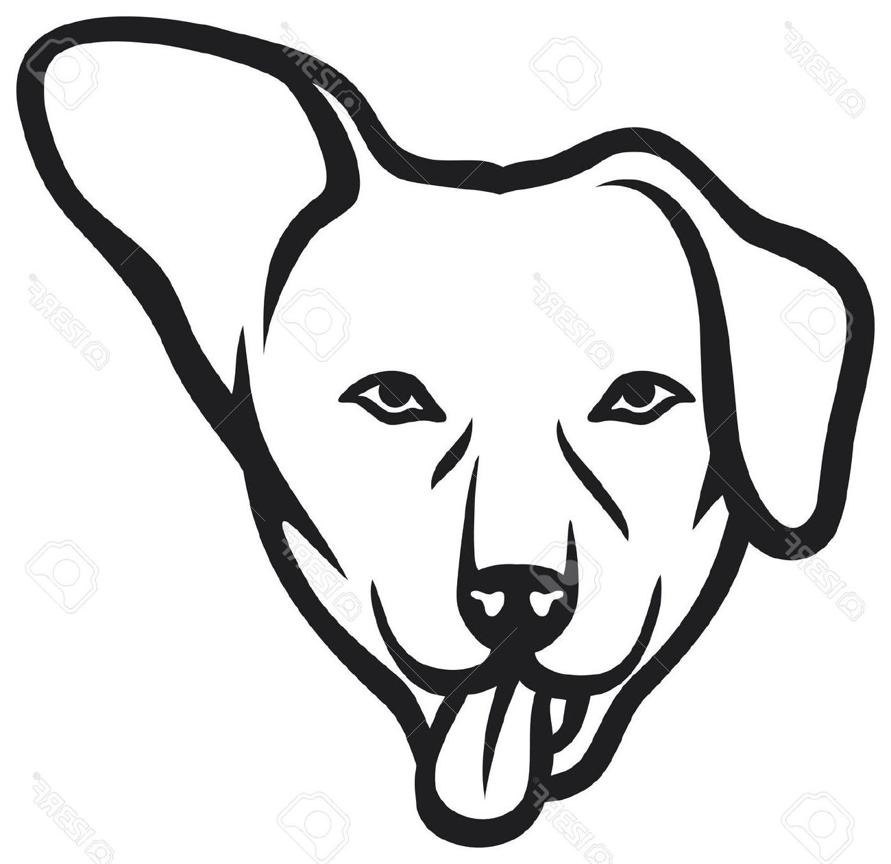1300x1260 Black Cat Clipart Dog Face