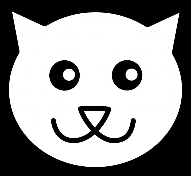 728x673 Cat Face Coloring Page Murderthestout