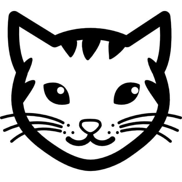 626x626 Black Cat Head Vectors, Photos And Psd Files Free Download