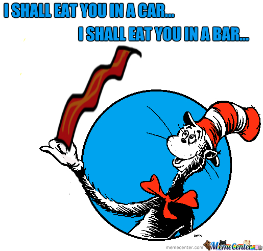 515x491 Cat In The Hat Loves Bacon Cat In The Hat Know Your Meme