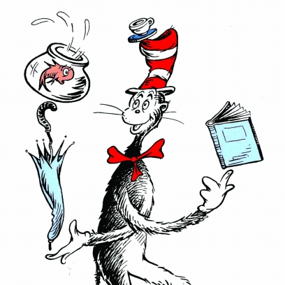 408x408 Dr. Seuss' The Cat In The Hat