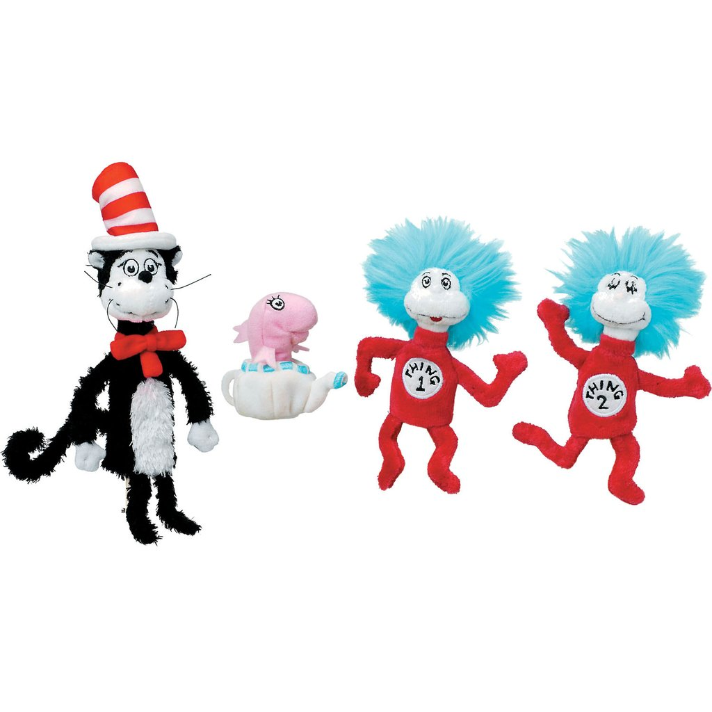 1024x1024 Dr. Seuss The Cat In The Hat Finger Puppet Manhattan Toy