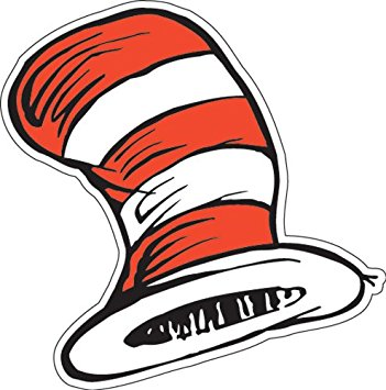 351x355 Eureka The Cat In The Hat 5 Inch Paper Cut Out Hats