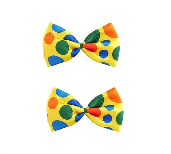 585x528 Printable Bow Tie Templates Free Word Pdf Format Download