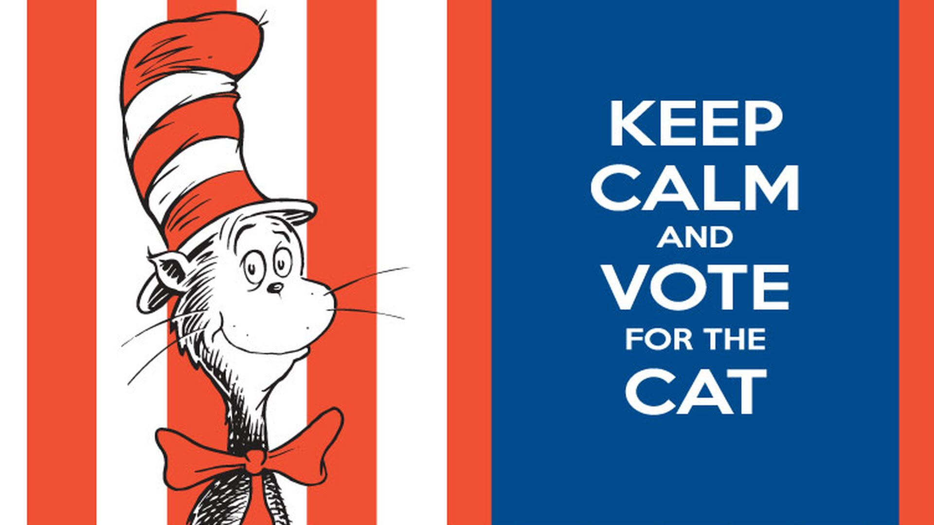 Cat In The Hat Wallpaper Free Download On Clipartmag