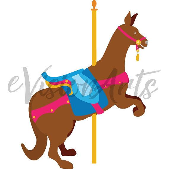 570x570 Carousel Animal Clipart Carousel Clip Art Animal Clipart