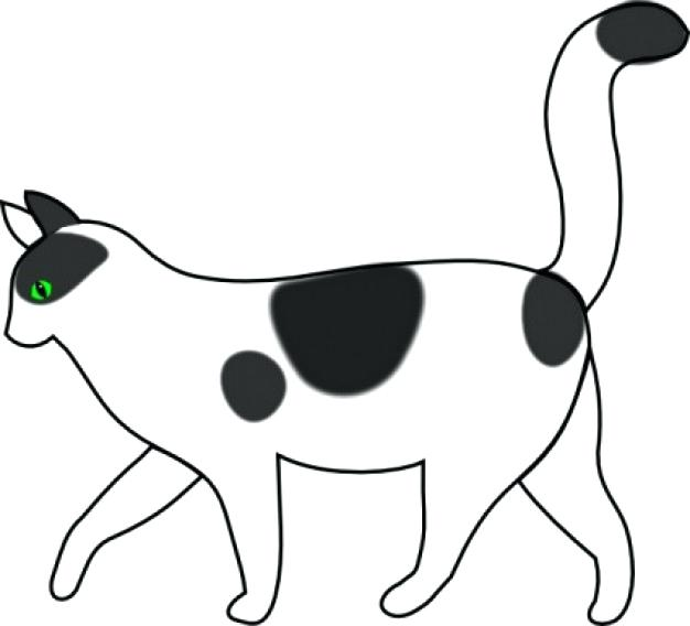 626x568 Cat Clipart Cat Coloring Pages Here Is A Small Collection Of Cute