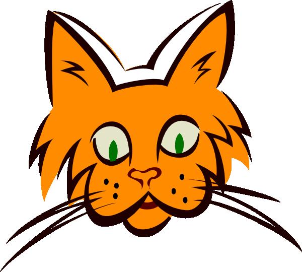 600x540 Cat Face Cliparts