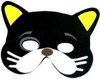 202x159 Cat Mask Clipart
