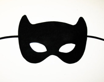 340x270 Catwoman Clipart Mask