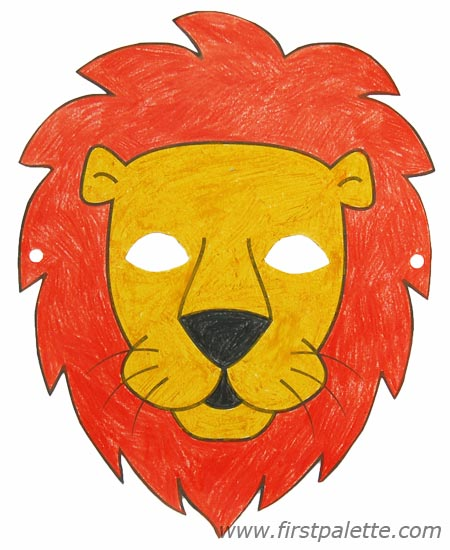 450x550 Printable Animal Masks Craft Kids' Crafts