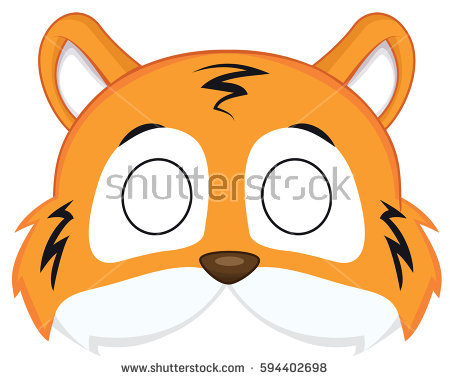 450x380 Tiiger Clipart Tiger Mask