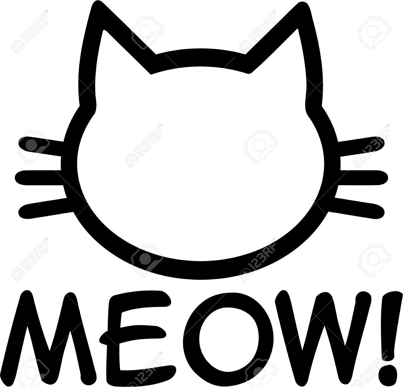1300x1248 Meow Cat Clipart, Explore Pictures