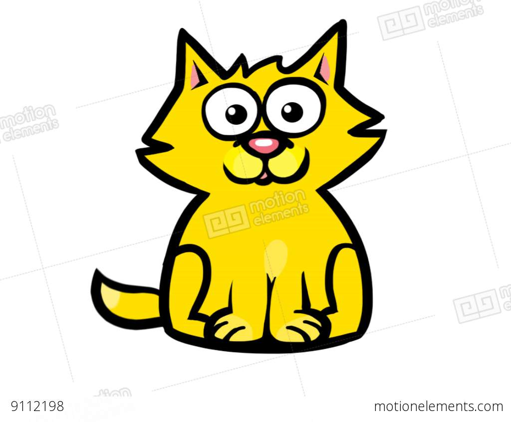 1024x846 Meowing Cat Stock Animation 9112198