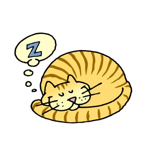 500x500 Cat Nap Clip Art Cliparts