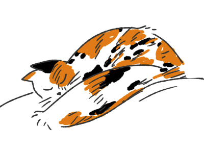 400x300 Cat Nap By Animade
