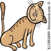 175x178 Happy Cat Clipart