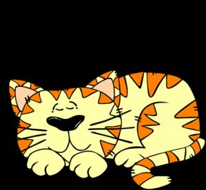 299x276 Sleeping Clipart Cat Sleep