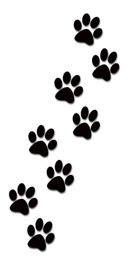 474x908 Cat Paw Prints Clip Art Tumundografico 3
