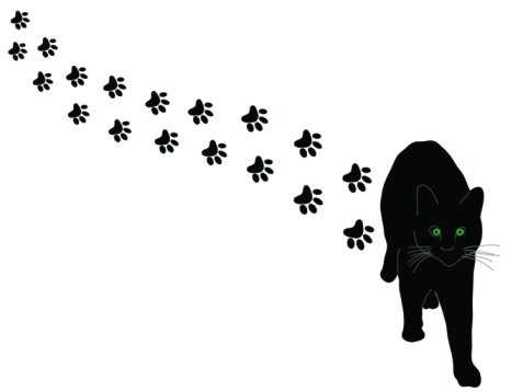 477x358 Paw Prints Cat Paw Print Clip Art Tumundografico