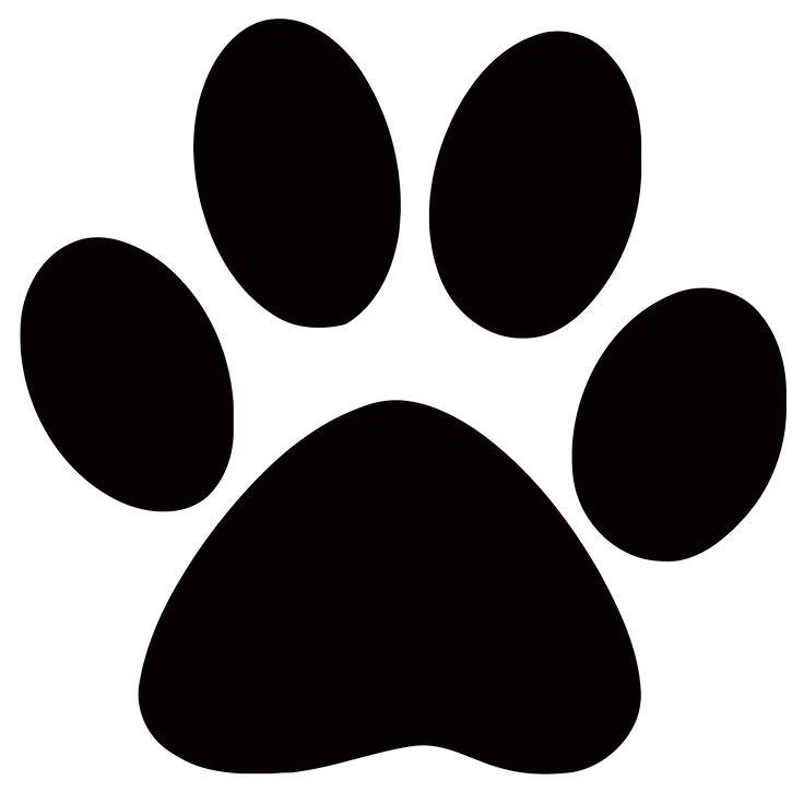 736x736 Dog Paw Prints Clip Art