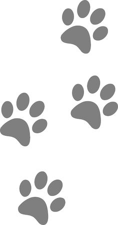 236x449 Picture Of A Panther Paw Print Clipart Image