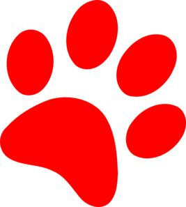 267x297 The Best Paw Print Clip Art Ideas Paw Print