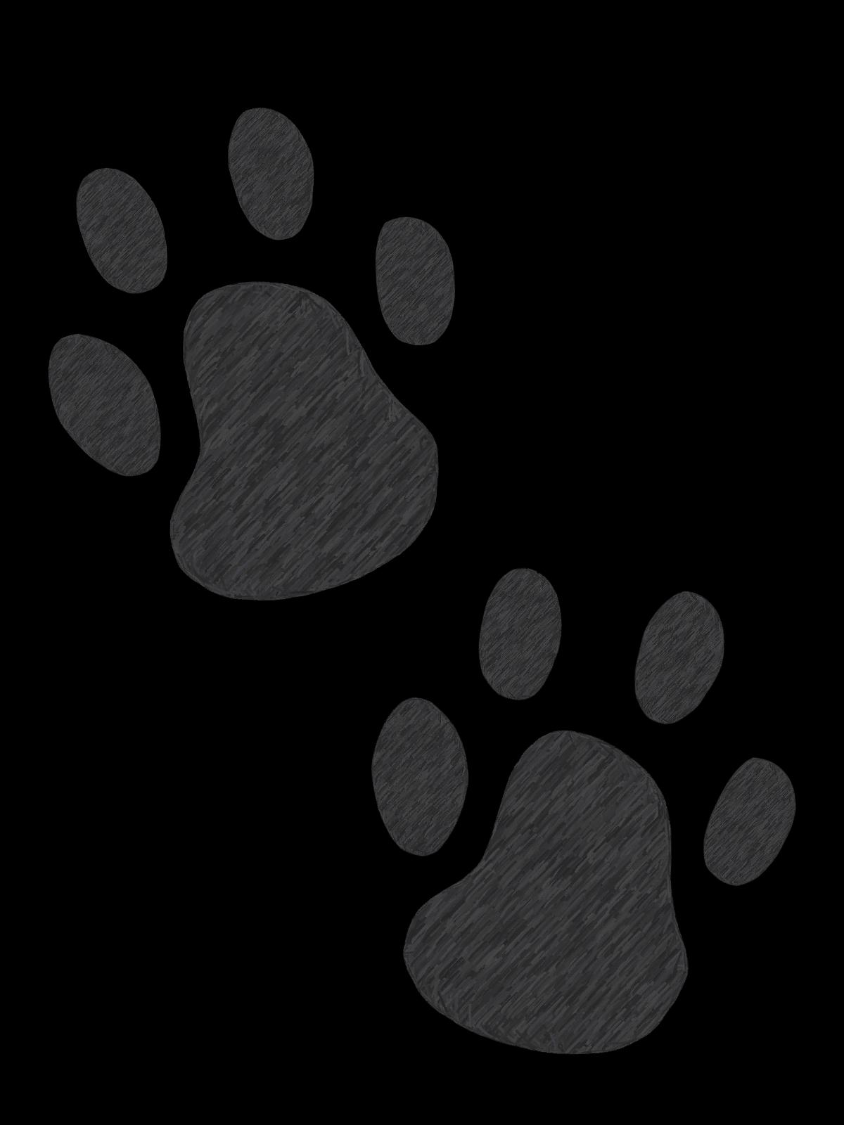 1200x1600 Paw Print Cat Clipart Kid