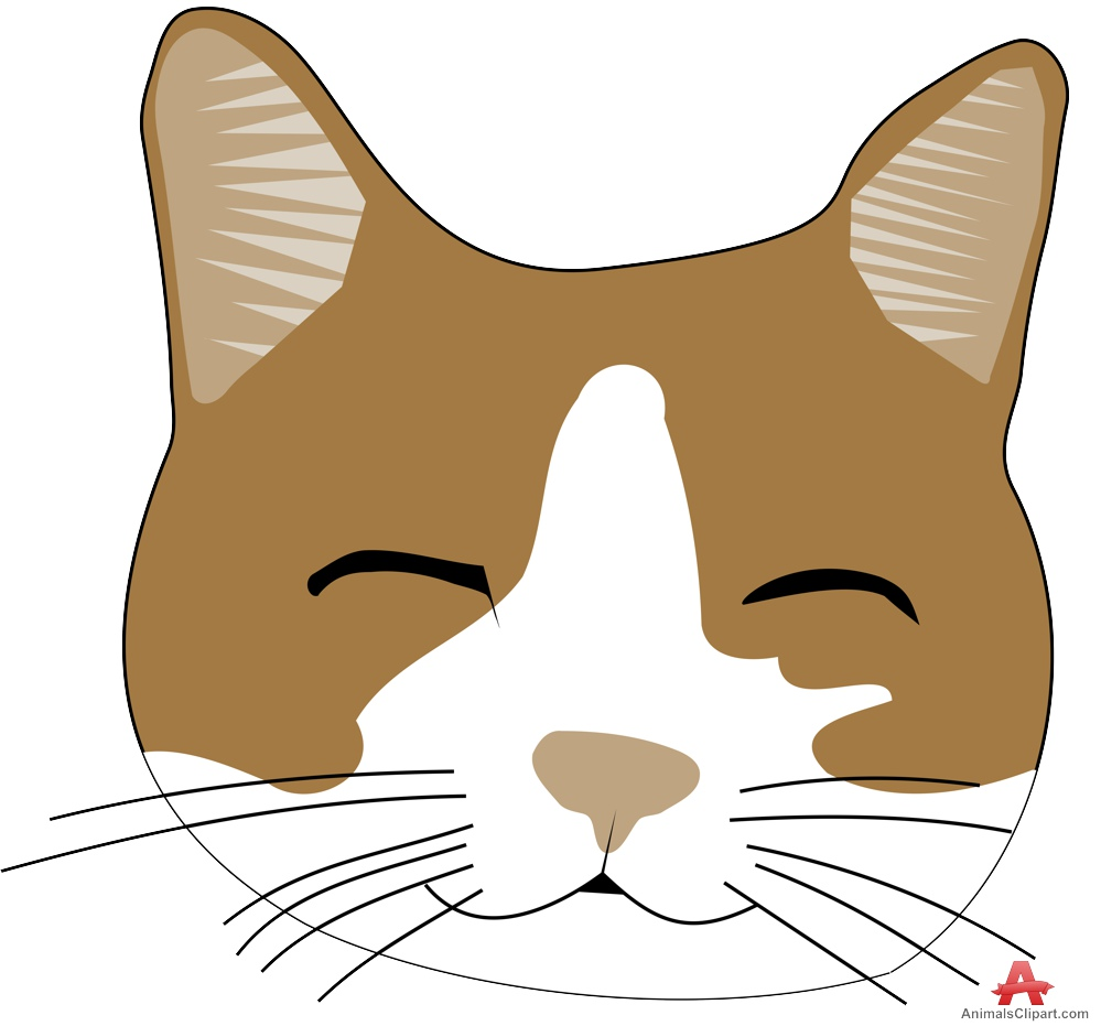 999x931 Cute Face Of Cat Free Clipart Design Download