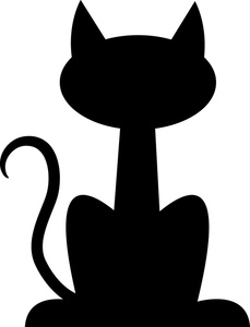 229x300 Dog And Cat Silhouette Clip Art Free 3
