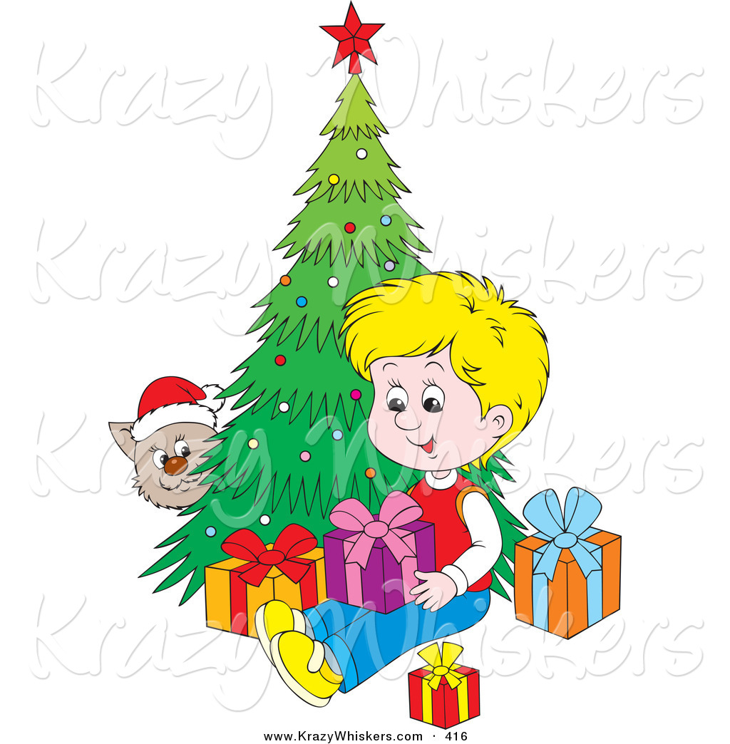 1024x1044 Critter Clipart Of Cat Wearing Santa Hat, Peekinground