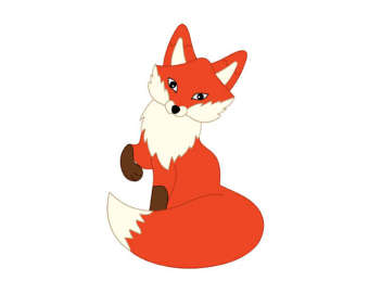 340x270 Top 89 Red Fox Clip Art
