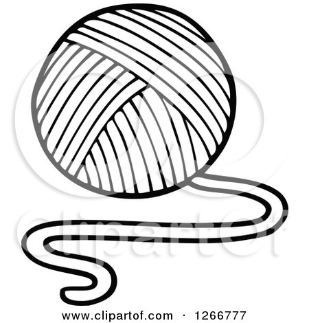 450x470 Royalty Free (Rf) Ball Of Yarn Clipart, Illustrations, Vector