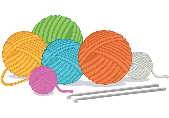 700x490 Yarn Free Vector Art