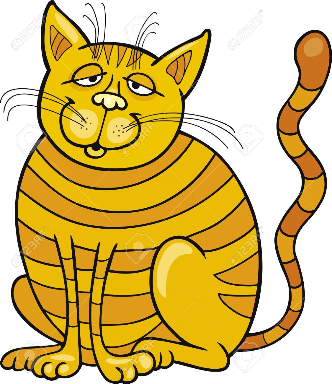 1125x1300 Yellow Cat Clipart, Explore Pictures