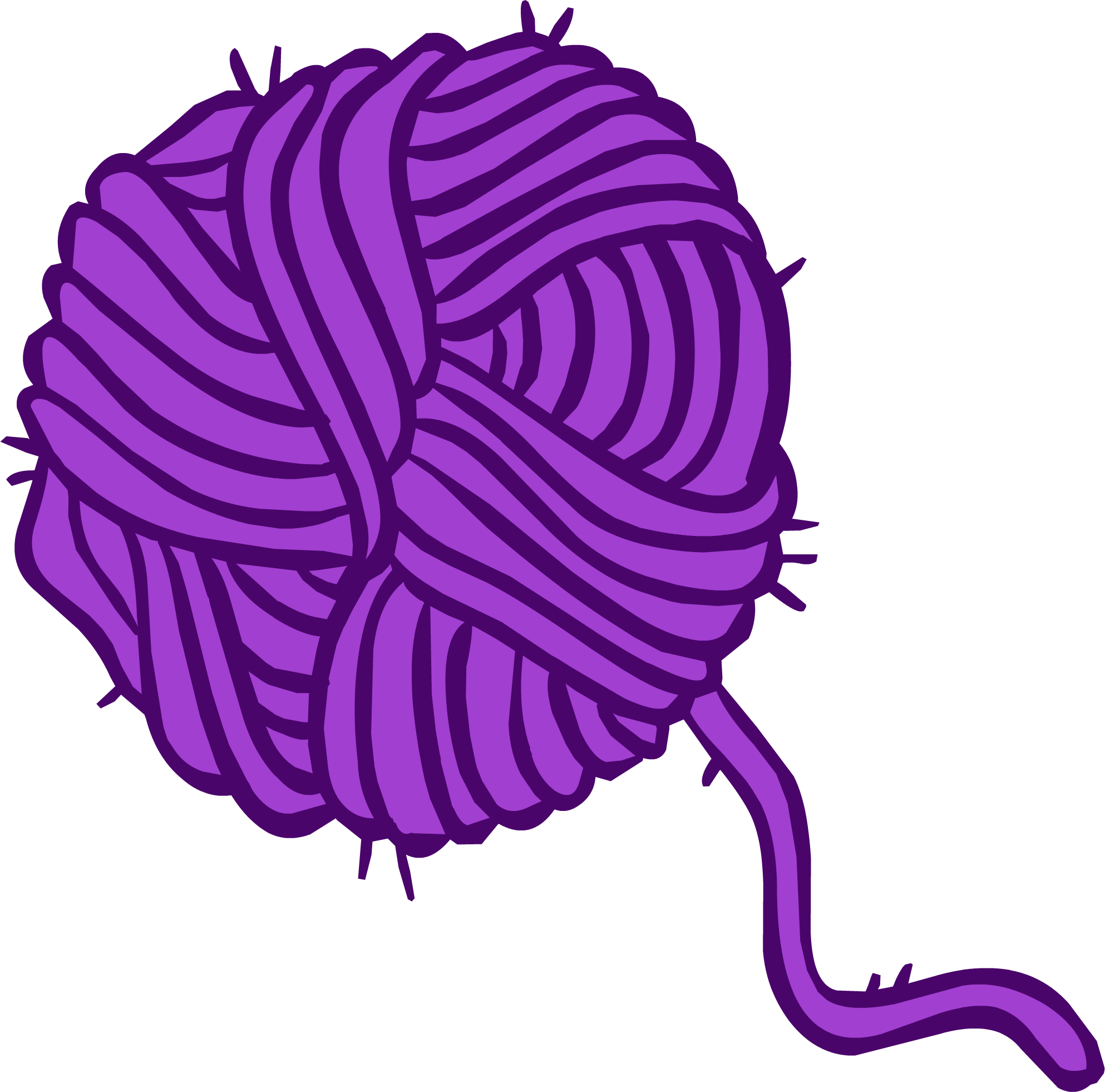 1986x1962 Ball Of Yarn Clipart