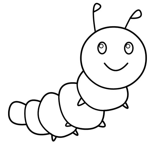 baby caterpillar coloring pages - photo#5