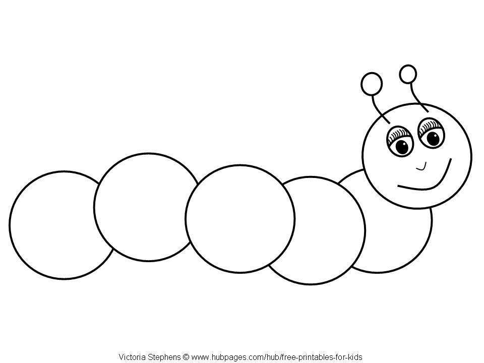 2ee76f4680c Caterpillar Outline | Free download best Caterpillar Outline on ...