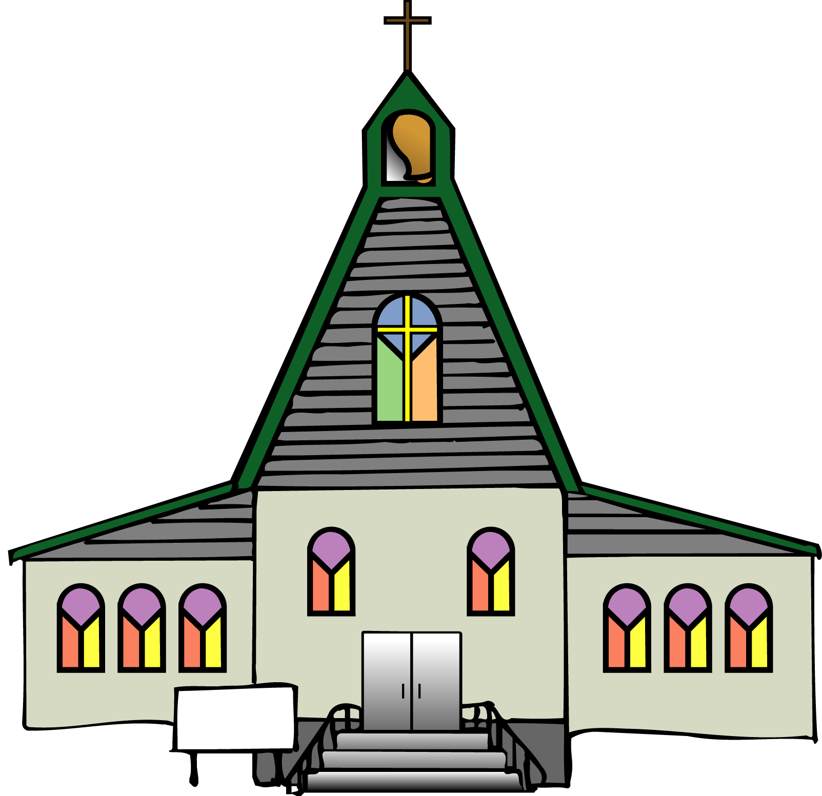 1603x1553 Chapel Clipart Catholic Church