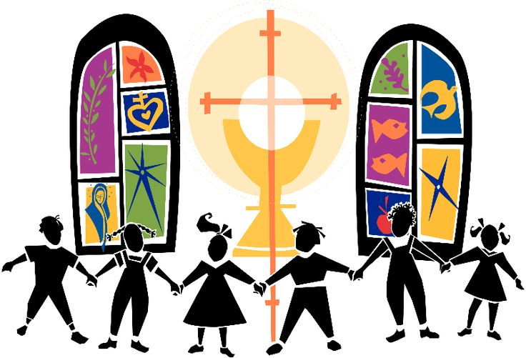 736x501 Catholic Parish Church Clipart