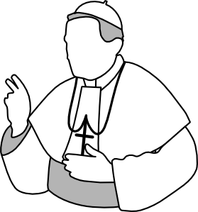 279x299 Catholic Church Clip Art Free Clipart Images 3 Image